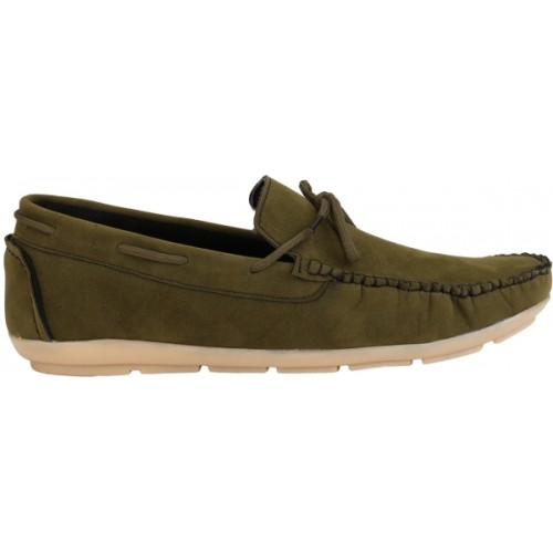 Magnolia Green Loafers For Men
