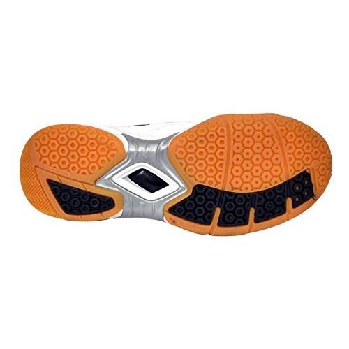 1b0d422d102252 ... Aadix White Samsh 104 Badminton shoes for Men Boys Women Girls Junior  PU Material Non Marking ...