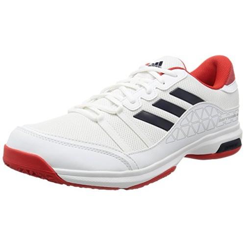 comprare adidas uomini barricata corte o ftwwht / conavy / corred tennis