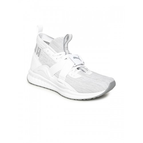 3f495ce2682e Buy Puma Men White IGNITE evoKNIT 2 Running Shoes online