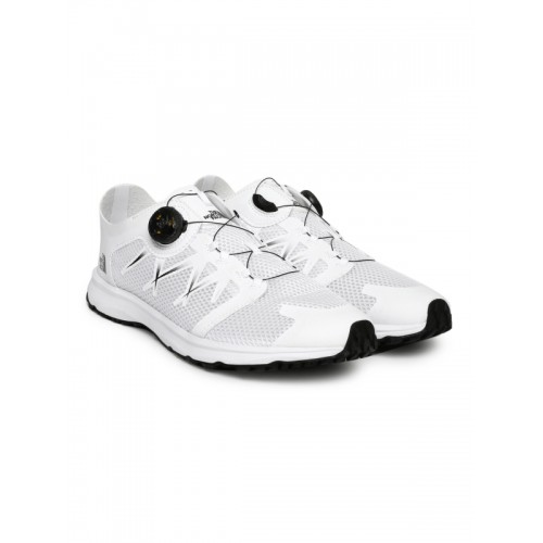 6b732a5e31f ... The North Face Men White LITEWAVE FLOW BOA Trekking Shoes ...