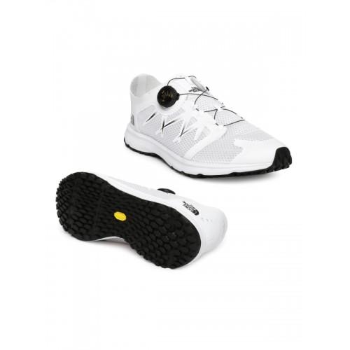 f0b82f20863 Buy The North Face Men White LITEWAVE FLOW BOA Trekking Shoes online ...