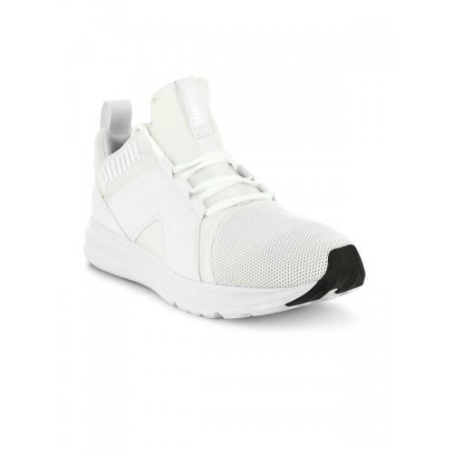 Buy Puma Men White Enzo Mesh Running Shoes online  08db312e1