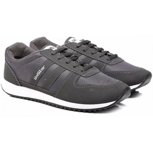 Unistar Jogging, Walking & Running (Narrow Toe) Shoes; 033-Black