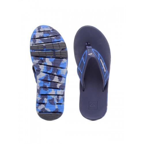 Quiksilver Men Navy Flip-Flops