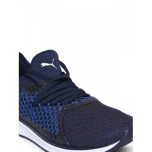 Puma Ignite 4 Netfit Navy Blue Running Shoes
