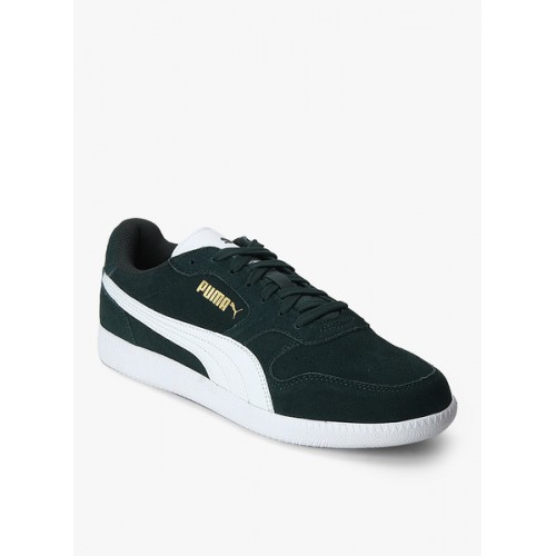 Buy Puma Icra Trainer Sd Green Sneakers online  226e8ea64