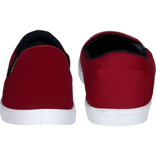 Chevit Stylish 97 Pantone Red Loafers and Mocassins (Casual Shoes) Loafers For Men(Maroon)