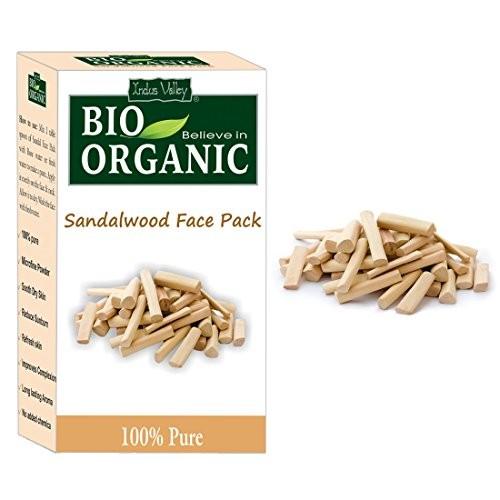 Indus Valley Organic Sandalwood Face Pack (100G)
