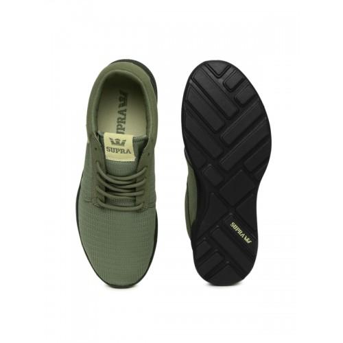 ae0577a07cd4 Buy Supra Men Olive Green Hammer Run Sneakers online