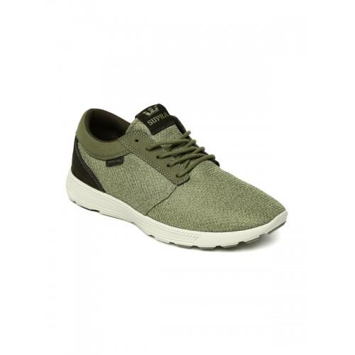 b84f12cd636b Buy Supra Men Olive Green HAMMER RUN Sneakers online