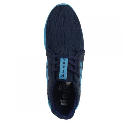 Fiara navy Mesh sport shoe