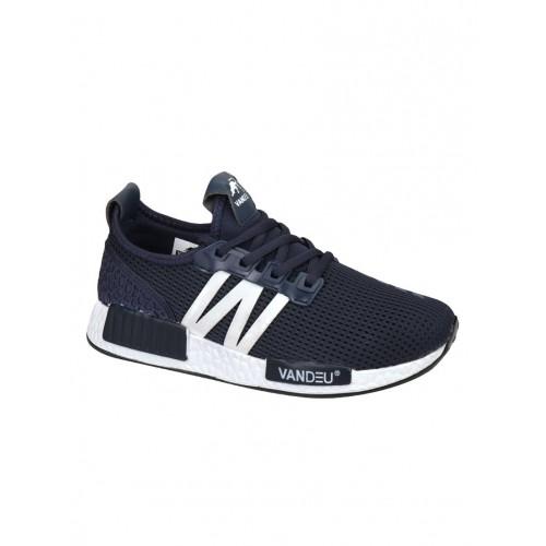 Vandeu navy Mesh sport shoe