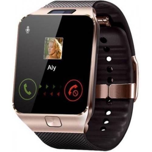 Enew DZ09-GOLD 7-GTX-A phone Gold Smartwatch