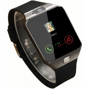 Enew DZ09-BLACK UTT_7 Black Square Dial 4G Smart Watch