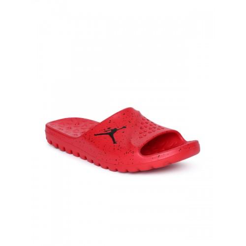 release date: 15831 71a2d Buy Nike Men Red Solid Jordan Superfly Slip-On Sliders with ...