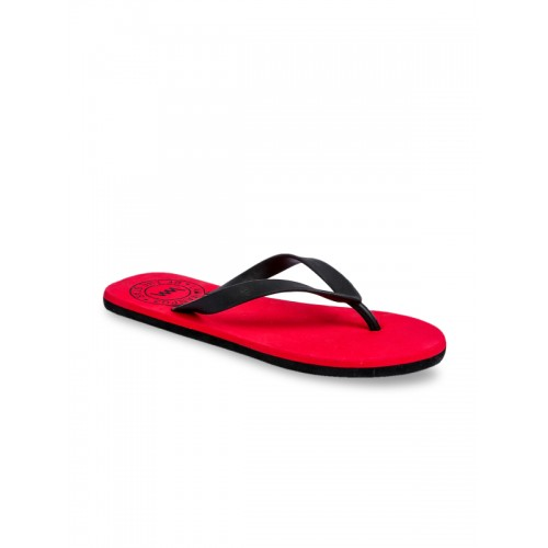 766055385b66 Buy Lawman pg3 Men Red   Black Solid Thong Flip-Flops online ...