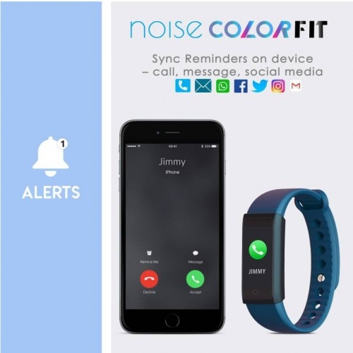 Noise Unisex Blue ColorFit Fitness Band