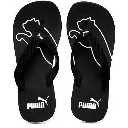 13da7fc7b8f995 Buy Puma Men s Black White Colaba Flip Flops online
