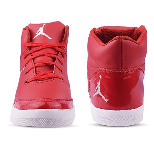 Butchi Mens Red Synthetic Stylish Sneaker