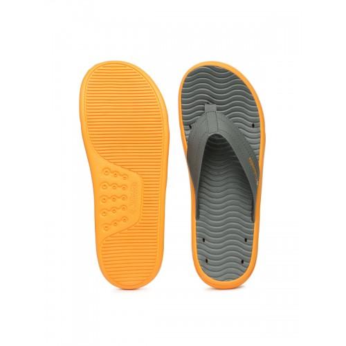 Columbia Men Grey Vent Cush Flip-Flops