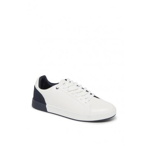 Westside White Colour-Block Sneakers