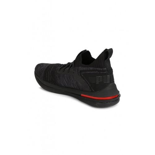 Buy Puma Ignite Limitless SR evoKNIT Black Running Shoes online ... c439c84ff