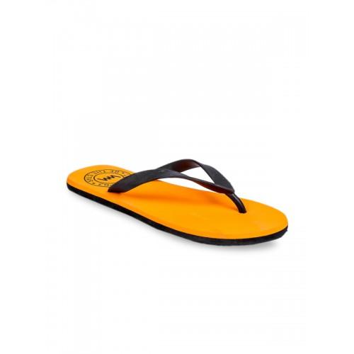 27fe1478d68f Buy Lawman pg3 Men Orange Solid Thong Flip-Flops online