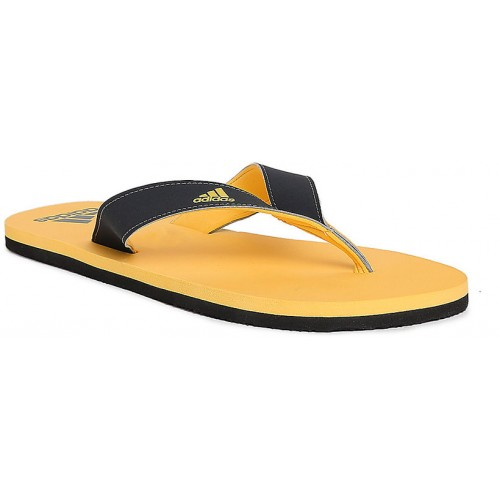 7dbc8ab1b39a82 Buy Adidas Eezay Max Out Navy Yellow Flip-Flops online