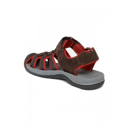 ed832065de6e5d Buy Boltio Men Brown   Red Sports Sandals online