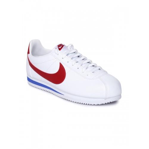 Nowa kolekcja Najnowsza sprzedaż uk Buy Men's Nike Classic Cortez Leather Shoe online | Looksgud.in