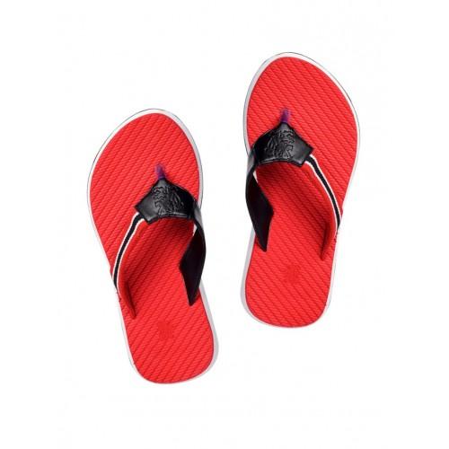 ebbcc39c8c63 Buy SAPIENCE red Fabric toe separator flip flop online