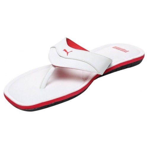 2c2bbf2663e1af Buy Puma Men s Caper IDP White Slippers and Flip Flops online ...