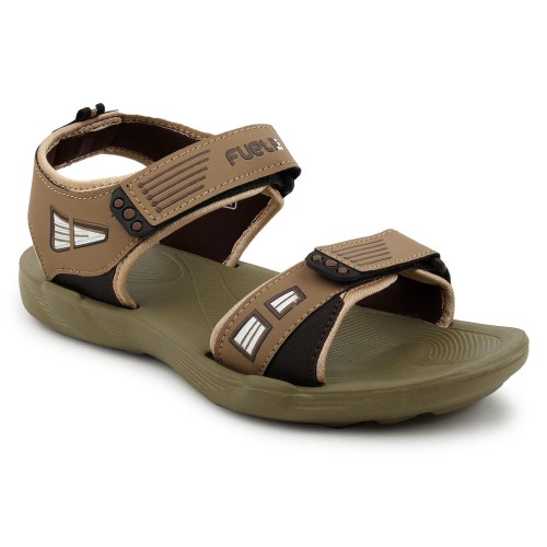 fd892aded0b9 ... FUEL Men s Boy s Fashionable Comfortable Solid Casual Floaters and  Sandals ...