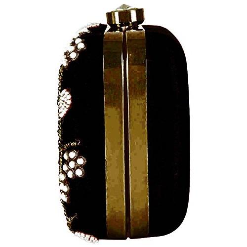 Tooba Handcrafted BPF6 Women's Potli (Black)
