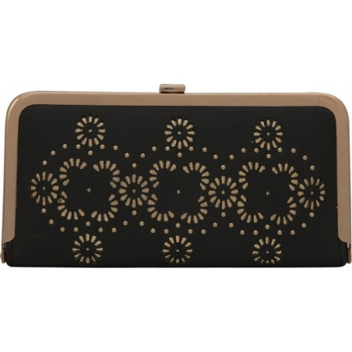 Bee fashionable Casual, Formal, Party Black  Clutch