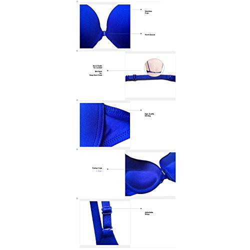 PrivateLifes Flaunt Your Straps In Style Front Open Pushup Bra