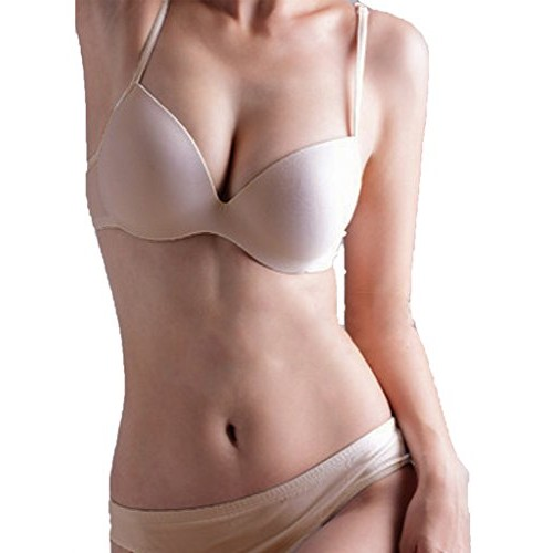 Daia furen by pavvoin white underwire ,paded,full cup everyday t-shirt bra pack of 1