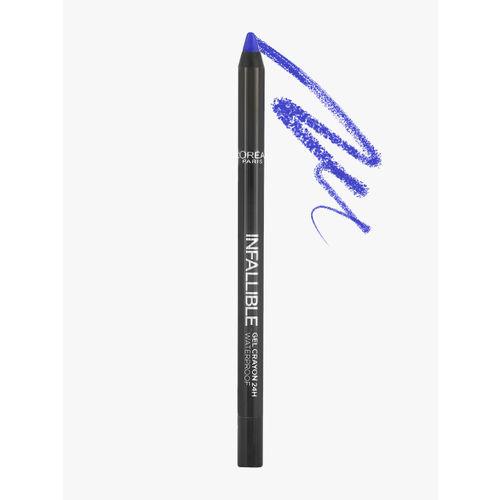 LOreal Infallible Gel Crayon Eye Liner 107 I've Got The Blue