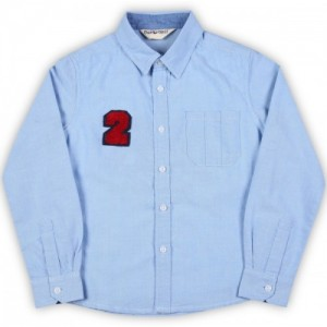 Miss & Chief Boy's Solid Casual Shirt