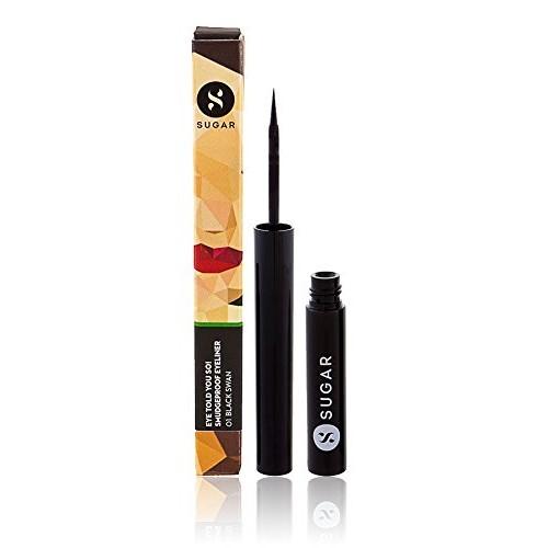 SUGAR Cosmetics Eye Told You So! Smudgeproof Eyeliner 01 Black Swan (Black), 1.75 ml