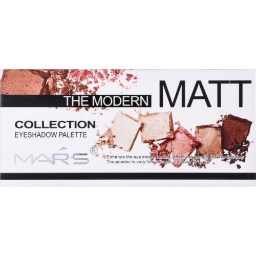 Mars Modern Matte Eyeshadow Palette 18 ml