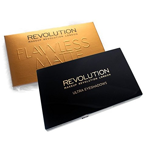 Makeup Revolution London Ultra 32 Shade Eyeshadow, Flawless Matte, 16g
