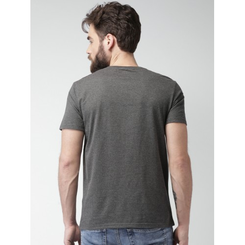 celio* Dark Grey Short Sleeves T-Shirt