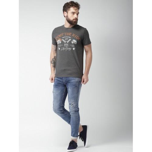 celio* Dark Grey Short Sleeves T-Shirt