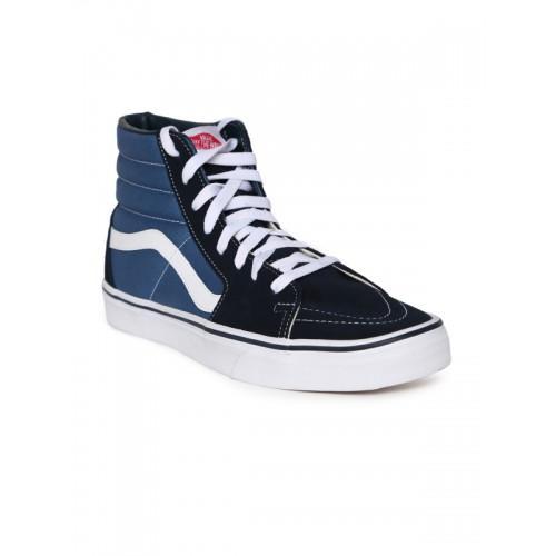 Vans Unisex Blue SK8-Hi Sneakers