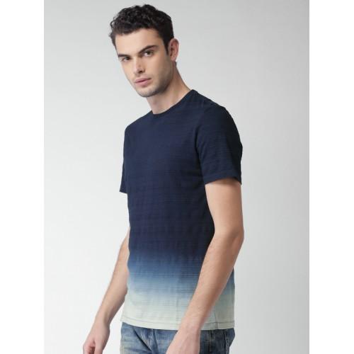 Celio Men's Solid Regular Fit T-Shirt