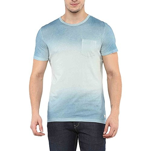 Celio Men's Solid Regular Fit T-Shirt