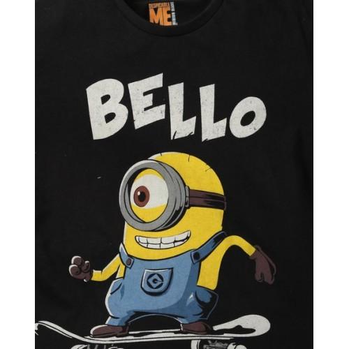 KIDSVILLE Minions Print Crew Neck T Shirt ...