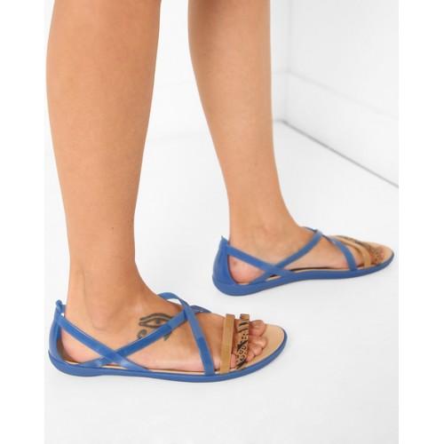 eb3659bcc1e10 CROCS Isabella Strappy Colourblock Sandals  CROCS Isabella Strappy  Colourblock Sandals ...